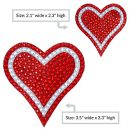 Sparkle-Rider-Rhinestone-Decal-Stickers-Unique-Girly-Accessory-Perfect-Gift-for-Women-Bling-Lovers-Waterproof-Decor-for-Cars-Motorcycle-Helmet-Wall-Window-2-pcset-35-inch-RedSilver-0-4