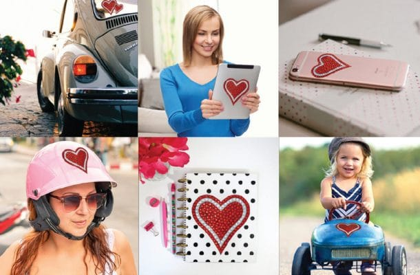 bling decal applications